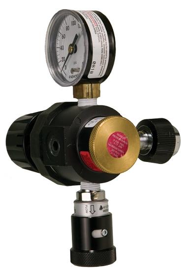 In Line 0 200 Psi Adjustable Pressure Nitrogen Regulator