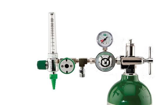 Oxygen Tank Flow Meter 50 PSI Preset CGA 870 ...