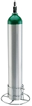 Single E, D or C Oxygen Cylinder Stand