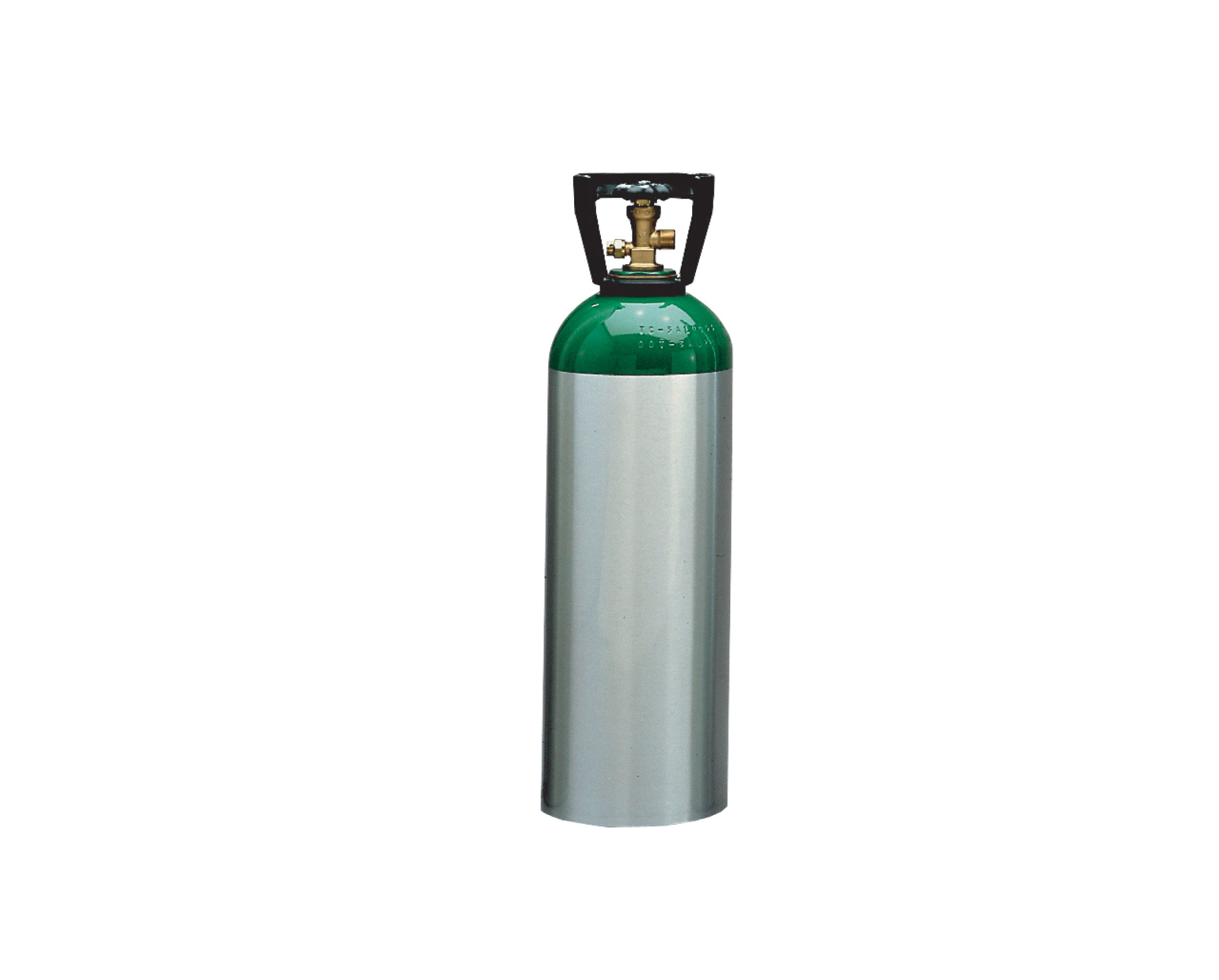 M60 Aluminum Oxygen Cylinder With CGA 540 Valve From WT Farley