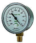 Replacement Gauge for DU-O-VAC (Low Flow, 0-200 mmHg)