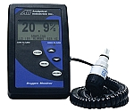 Oxygen Monitor With High & Low Alarms