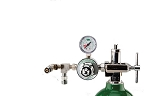 50 PSI Preset CGA 870 Oxygen Regulator (Dual DISS Auxiliary Ports)