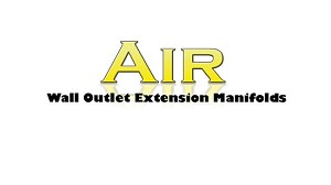 MRI Compatible Air Wall Outlet Extension Manifolds