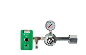 50 PSI Preset CGA 540 Oxygen Regulator (Chemetron Coupler and DISS Auxiliary Port)