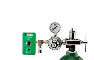 50 PSI Preset CGA 870 Oxygen Regulator (Chemetron Coupler and DISS Auxiliary Port)