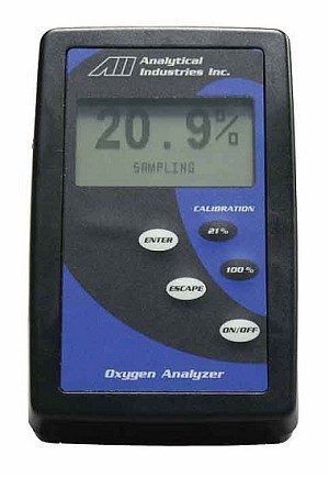 Oxygen Analyzer for Spot Checking Oxygen Concentrators