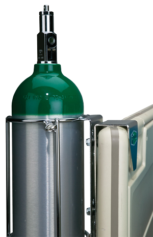 Oxygen Cylinder Holder For Hanging Over Headboards From Wt