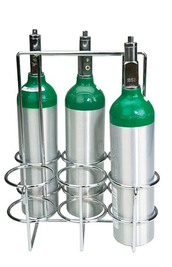 6 M6 Oxygen Cylinder Tote Rack From Wt Farley