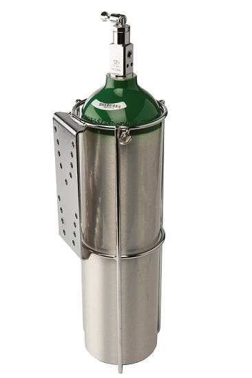 E Or D Size Oxygen Cylinder Holder For Flat Surface