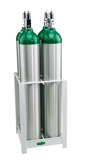 Mri Compatible 4 E Cylinder Rack From