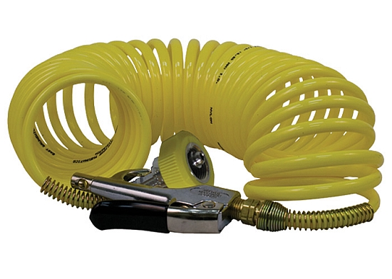 25 Foot Air Coil Hose With Blowgun From Wt Farley