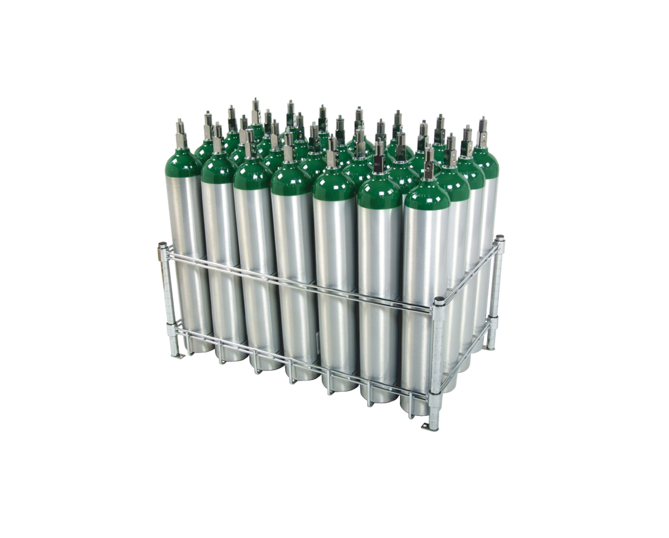 28 E Oxygen Cylinder Rack From Wt Farley