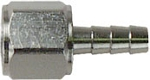 DISS Female Hex Nut With 1/4-Inch Barb