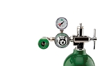 50 PSI Preset CGA 870 Oxygen Regulator (Puritan Bennett Coupler)