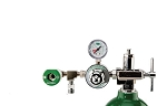 50 PSI Preset CGA 870 Oxygen Regulator (Puritan Bennett Coupler and DISS Auxiliary Port)