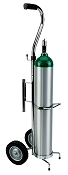 Deluxe Oxygen Cylinder Cart for Hill-Rom Beds
