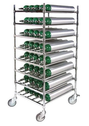 Stack & Rack Horizontal Cylinder Cart