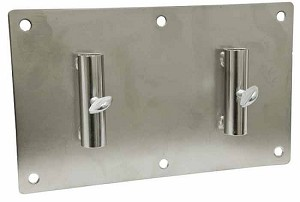 Wall Mount Dual Cylinder Holder Accessory