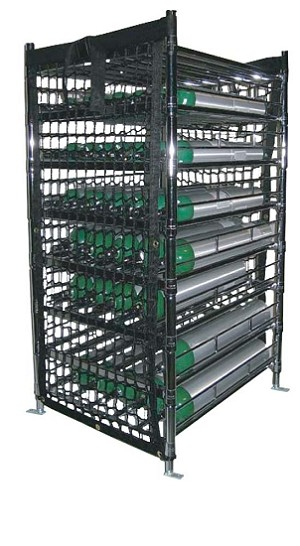 Large Capacity Vehicle Cylinder Stackers