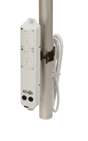 Pole Mounted Hospital Grade Power Strip
