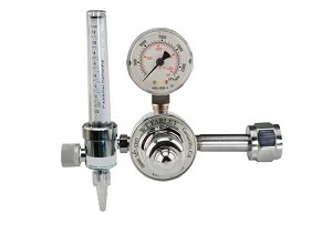 Single Stage CO2 Regulator With Flowmeter CGA 320 for Large Cylinder