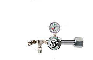 50 PSI Preset CGA 540 Oxygen Regulator (Dual DISS Auxiliary Ports)