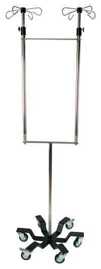 IVS Stainless Steel Dual IV Pole Series