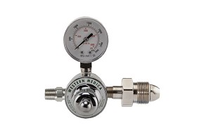 Specialty Mixed Gas 80 PSI Preset Diaphragm Regulator CGA 500