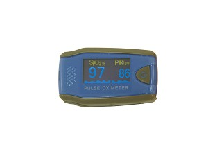 Fingertip Pulse Oximeter for Pediatrics With Color Digital LCD Display